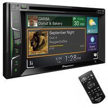 """Reprodutor de DVD Automotivo Pioneer AVH-A2150BT de 6.2"""" com Bluetooth/USB - Preto"""