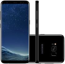 "Smartphone Samsung Galaxy S8+SM-G955FD 64GB Lte Dual Sim 6.2"" Cam.12MP+8MP-Preto"