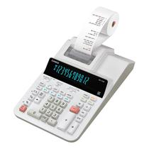 Calculadora com Bobina Casio DR-120R Bivolt - Branco