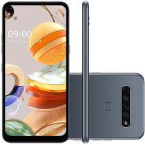 """Smartphone LG K61 LM-Q630BAW Dual Sim Lte 6.5"""" 4GB/128GB Titan"""
