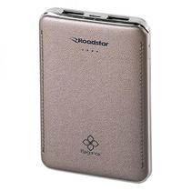 Carregador Portatil Roadstar USB RS04PB de 8000 Mah - Dourado