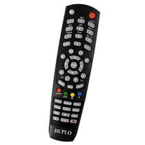 Controle Remoto para Receptor Tocomsat Duo Lite e HD 3 A Pilha - Preto