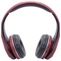 Fone de Ouvido Mox MO-BH551 Bluetooth/Aux - Vermelho