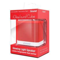 Caixa de Som Isound Iglowsound Cube Vermelho
