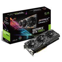 Placa de Vídeo Asus GTX1080TI 11GB/GDDR5X/352B/1708MHZ (ROG-STRIX-GTX1080TI-11G)