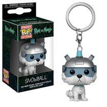 Funko Pop Keychain Rick Morty Snowball
