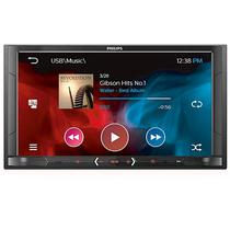 "Toca Radio Automotivo Philips CE600BT 6.8"" com Bluetooth/USB - Preto"