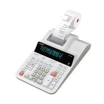 Calculadora com Bobina Casio DR-120R-We 110V - Branco