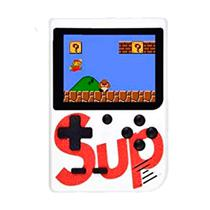 Console Mini Game Retro Portatil Sup Boy Game Box Plus 400 In 1 Branco
