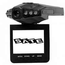 """Camera Automotiva Satellite A-DVR02 0.3MP com Tela de 2.4"""" - Preta"""