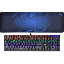 Teclado Gamer Mtek MK52UKP Mecanico + Keyboard Pad