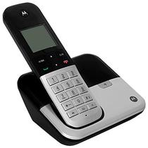 Telefone Sem Fio Motorola M6500 Dect 6.0 com Identificador de Chamadas Bivolt - Preto/Prata