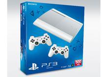 Console Playstation 3 Super Slim 500GB Branco Reco c/ 70 Jogos