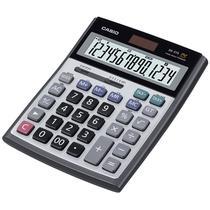 Calculadora de Mesa Casio DS-3TS 14 Dig- Metal Heavy Duty Silver