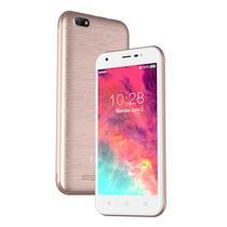 Smartphone Figo Centric S50G DS 1/8GB 5.0 5MP/2MP A6.0 - Rosa Ouro