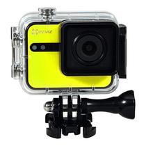 "Camera de Acao Ezviz S1C Action Camera 8MP/Full HD Tela 2.0"" Touch com Wi Fi/Bluetooth - Amarela"