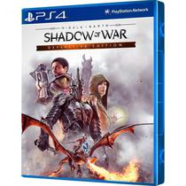 Jogo Middle Earth Shadow Of War Definitive Edition PS4