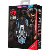 Mouse Gaming Marvo Scorpion Maurus M418 - Preto