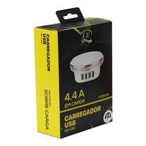 Carregador Gold Edition GE-C44 4 Portas USB 4.4A LED