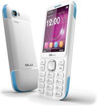 "Celular Blu Jenny TV T276 Dual Sim 2.8"" Branco/Azul"