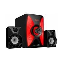 Home Theater Mox MO-H2104 2.1CH FM/ USB/ Bivolt Vermelho