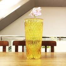 Vaso Decorativo Elsa Amarelo