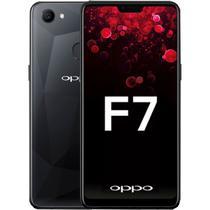 Smartphone Oppo F7 DS 4/64GB 6.23 16MP/25MP A8.1 - Preto