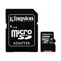 Cartao de Memoria Micro SD Kingston SDCS de 128GB MSDXC-I - Preto