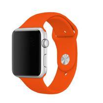 Pulseira 4LIFE para Apple Watch Silicone - 42MM - Laranja