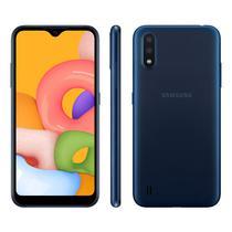 Smartphone Samsung Galaxy A01 SM-A015M Tela 5.7 Dual Sim 32GB - Azul