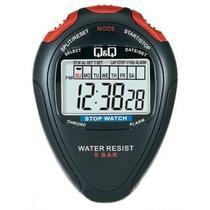 Cronometro Q&Q HS46J003Y Black Red