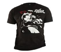 Camiseta Street Fighter Preto 9543