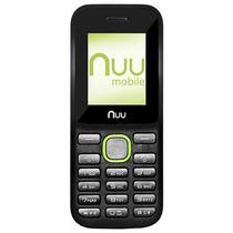 Celular Nuu F2-AM Dual Sim Tela de 1.77 VGA - Preto/Verde