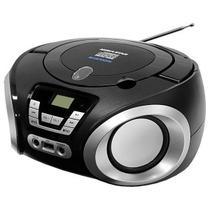 Caixa de Som Microsystem CD/ USB/ TF/ FM/ BT Rosa 1842BTP Megastar