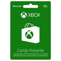 Xbox Gift Card 25$ Microsoft