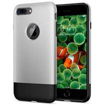 Capinha para iPhone 7/8 Plus Spigen Classic One 055CS24412 - Prata/Preta