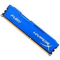 Memória Ram Kingston DDR3 8GB Hyperx Fury 1866MHZ Azul