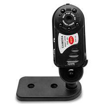 Camera Espia Quanta QTMFW11 com Wi-Fi/Funcao Webcam/Visao Noturna - Preta