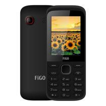 Celular Figo Duos A240 Dual 32MB Tela de 2.4 Camera VGA - Preto