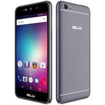"""Smartphone Blu Grand X G090EQ Dual Sim 3G Tela 5.0""""HD Cpu 4Core Cam. 5MP+5MP Cinza"""