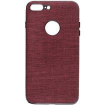 Case iPhone 7/8+ Wesdar - Vermelho Escuro/Preto