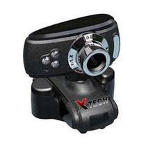 Webcam X-Tech XT-WC080 Microf 8.3 Preto