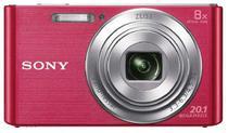 Câmera Digital Sony DSC W-830 20.1 MP 8X Rosa
