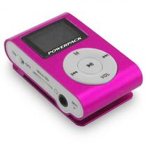 MP3 Powerpack MPTF-L18 Suporta Memoria 16GB/ LCD/ Rose