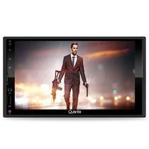 "DVD Multimidia Quanta QTRMT64 USB / Bluetooth / Cartao SD / MP3 / Tela Touch 7"" - Preto"