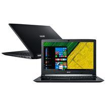 "Notebook Acer A515-51-75UY i7-7500U 2.7GHZ/ 8GB/ 1TB/ FHD/ 15.6""/ Ingles/ W10 Teste Preto"