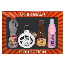Licor Cream Collection com 4 Unidades de 50 ML