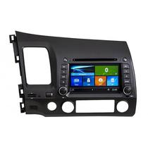 Central Multimidia Booster Honda Civic BR-044 S90 Phonelink 2007/2011