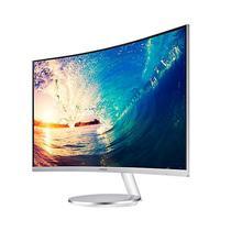 "Monitor Samsung Curved C27F591FDL de 27"" Bivolt  Branco"