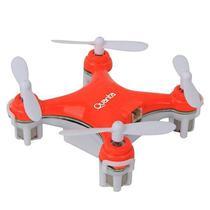 Drone Quanta QTPDR2035 Mini com Giro de 360O - Laranja/Branco